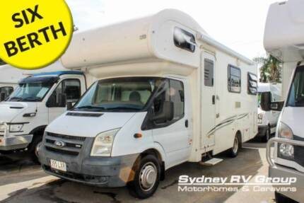 U3861 Ford Talvor 6 Berth Great Value For Money & Very Well Kept Penrith Penrith Area Preview