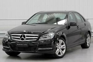 2013 Mercedes-Benz C-Class W204 C200 Black Sports Automatic Parramatta Parramatta Area Preview