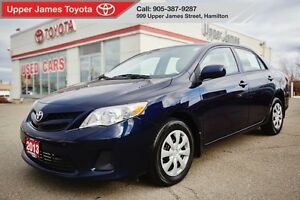 2013 Toyota Corolla CE - Moonroof Package