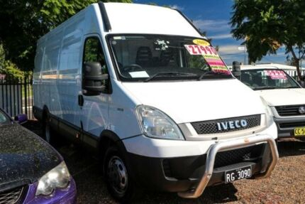 2010 Iveco Daily 35S13 White REFRIGIRATED VAN 3.0l