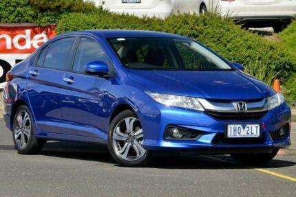2016 Honda City GM MY16 VTi-L Blue 7 Speed Constant Variable Sedan