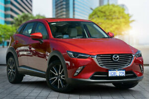 2018 Mazda CX-3 DK4W7A Akari SKYACTIV-Drive i-ACTIV AWD Soul Red 6 Speed Sports Automatic Wagon Bayswater Bayswater Area Preview