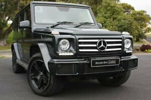 2016 Mercedes-Benz G-Class W463 MY807 G350 d 7G-Tronic + 4MATIC Black 7 Speed Sports Automatic Wagon Mount Gambier Grant Area Preview