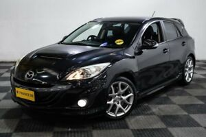 2011 Mazda 3 BL1031 MPS Luxury Black 6 Speed Manual Hatchback Edgewater Joondalup Area Preview