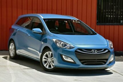 2014 Hyundai i30 GD Active Tourer Blue 6 Speed Manual Wagon Molendinar Gold Coast City Preview