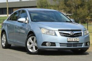 2011 Holden Cruze JH Series II MY11 CDX Blue 6 Speed Sports Automatic Sedan Lansvale Liverpool Area Preview