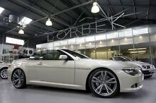 2008 BMW 650ci E63 LCI Silver 6 Speed Steptronic Convertible Port Melbourne Port Phillip Preview