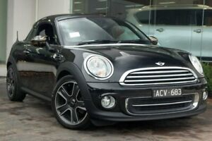 2014 Mini Roadster R59 Cooper Black 6 Speed Sports Automatic Roadster Doncaster Manningham Area Preview