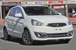 2016 Mitsubishi Mirage LA MY16 LS White 1 Speed Constant Variable Hatchback Mount Gravatt Brisbane South East Preview