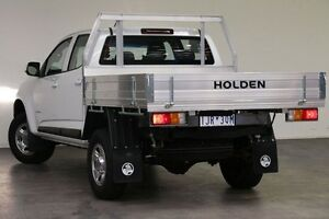 2016 Holden Colorado RG MY17 LS Crew Cab 4x2 Summit White 6 Speed Sports Automatic Cab Chassis Southbank Melbourne City Preview