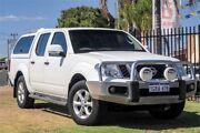 2012 Nissan Navara D40 S6 MY12 ST White 6 Speed Manual Utility Wangara Wanneroo Area Preview