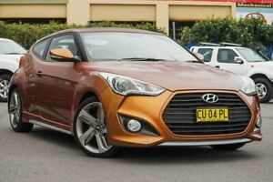 2012 Hyundai Veloster FS2 SR Coupe Turbo Orange 6 Speed Sports Automatic Hatchback Chinderah Tweed Heads Area Preview