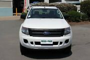 2012 Ford Ranger PX XL Double Cab Cool White 6 Speed Manual Cab Chassis Acacia Ridge Brisbane South West Preview