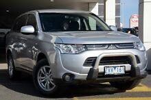 2013 Mitsubishi Outlander ZJ MY13 LS 2WD Silver 6 Speed Constant Variable Wagon Mornington Mornington Peninsula Preview