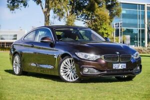 2015 BMW 428i F32 Luxury Line Sparkling Brown 8 Speed Sports Automatic Coupe Burswood Victoria Park Area Preview
