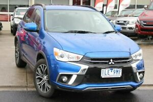 2018 Mitsubishi ASX XC MY18 LS 2WD Blue 6 Speed Constant Variable Wagon Cheltenham Kingston Area Preview