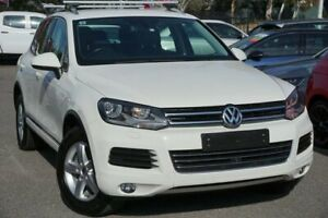 2011 Volkswagen Touareg 7P MY11 150TDI Tiptronic 4MOTION White 8 Speed Sports Automatic Wagon Phillip Woden Valley Preview