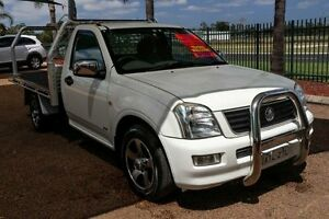 2005 Holden Rodeo RA MY05 DX White 5 Speed Manual Cab Chassis Minchinbury Blacktown Area Preview