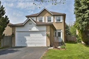 Avail Immed - 3 Bedroom/3 Bath Executive Home In Pickering