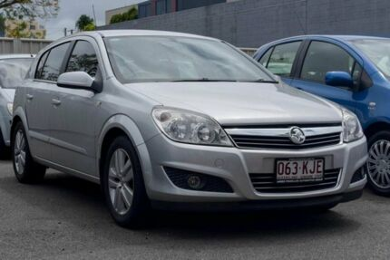2007 Holden Astra AH MY07 CDTi Silver 6 Speed Manual Hatchback
