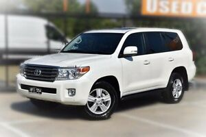2015 Toyota Landcruiser VDJ200R VX White 6 Speed Sports Automatic Wagon Berwick Casey Area Preview