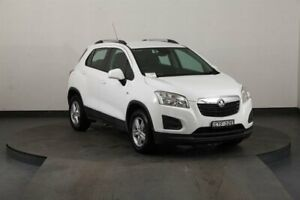 2014 Holden Trax TJ LS White 5 Speed Manual Wagon