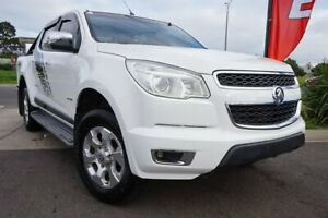 2014 Holden Colorado RG MY14 Storm Crew Cab White 6 Speed Manual Utility Brighton Bayside Area Preview