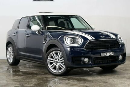 2018 Mini Countryman F60 Cooper Steptronic MINI Yours Lapis Luxury Blue 6 Speed Sports Automatic Darlinghurst Inner Sydney Preview