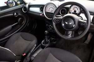 2013 Mini Hatch R56 LCI RAY White 6 Speed Sports Automatic Hatchback Minchinbury Blacktown Area Preview