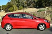 2012 Hyundai Accent RB Active Red 4 Speed Sports Automatic Hatchback St Marys Mitcham Area Preview