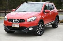 2013 Nissan Dualis J10W Series 4 MY13 Red 6 Speed Constant Variable Hatchback Helensvale Gold Coast North Preview