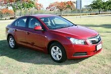 2011 Holden Cruze JH Series II CD Red 6 Speed Sports Automatic Sedan Townsville 4810 Townsville City Preview