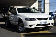 2008 Ford Falcon BF Mk II RTV Super Cab White 4 Speed Sports Automatic Cab Chassis Mornington Mornington Peninsula Preview
