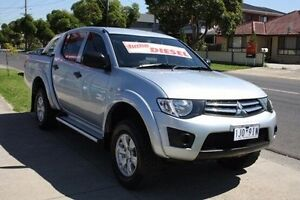 2014 Mitsubishi Triton MN MY15 GLX Double Cab Silver 5 Speed Manual Utility Altona North Hobsons Bay Area Preview