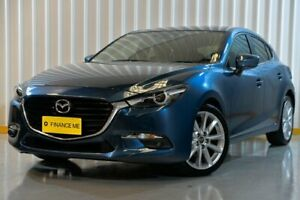 2017 Mazda 3 BN5438 SP25 SKYACTIV-Drive GT Blue 6 Speed Sports Automatic Hatchback Hendra Brisbane North East Preview