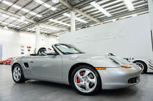 2000 Porsche Boxster S Arctic Silver 5 Speed Tiptronic Roadster Port Melbourne Port Phillip Preview