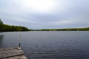 Bobs Lake Waterfront Lot With Trailer