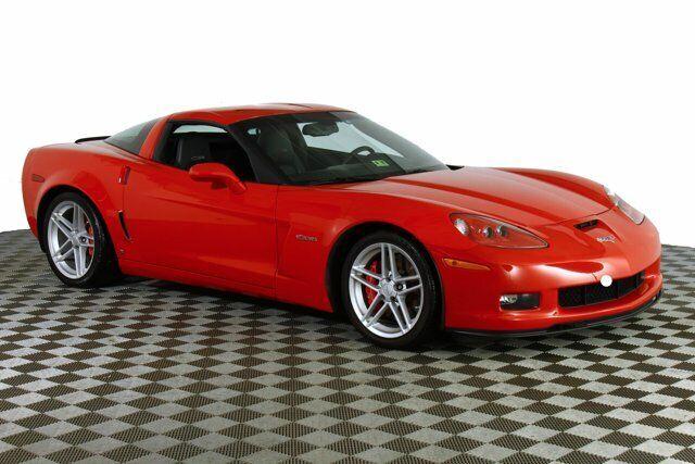 2006 Red Chevrolet Corvette Z06  | C6 Corvette Photo 5