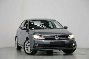 2015 Volkswagen Jetta 1B MY15 118TSI DSG Highline Grey 7 Speed Sports Automatic Dual Clutch Sedan Altona North Hobsons Bay Area Preview