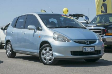 2005 Honda Jazz GD MY05 VTi Sirius Blue 7 Speed Constant Variable Hatchback Pearce Woden Valley Preview