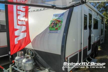 NC023 Winnebago Mossman 680C X Country Luxury Family Bunk Van!! Penrith Penrith Area Preview