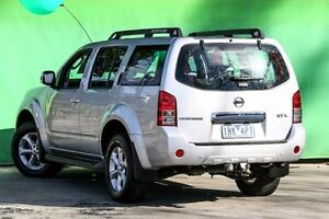 2010 Nissan Pathfinder R51 MY10 ST-L Silver 5 Speed Sports Automatic Wagon Ringwood East Maroondah Area Preview