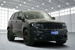 2016 Jeep Grand Cherokee WK MY16 SRT Night Edition Black 8 Speed Sports Automatic Wagon Victoria Park Victoria Park Area Preview