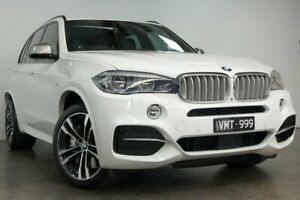 2016 BMW X5 F15 M50D White 8 Speed Sports Automatic Wagon South Melbourne Port Phillip Preview