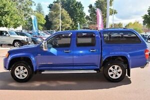 2010 Holden Colorado RC MY10 LT-R Crew Cab Blue 4 Speed Automatic Utility Gosnells Gosnells Area Preview
