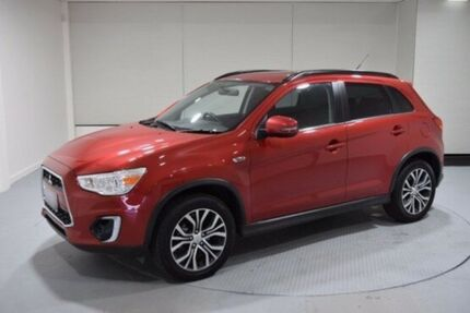 2016 Mitsubishi ASX XB MY15.5 LS 2WD Red 6 Speed Constant Variable Wagon Cooee Burnie Area Preview