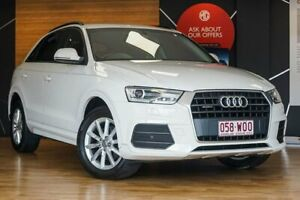 2016 Audi Q3 White Sports Automatic Dual Clutch Wagon Southport Gold Coast City Preview