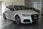 2016 Audi RS 3 8V MY16 Sportback S tronic quattro Glacier White 7 Speed Sports Automatic Dual Clutch Southport Gold Coast City Preview