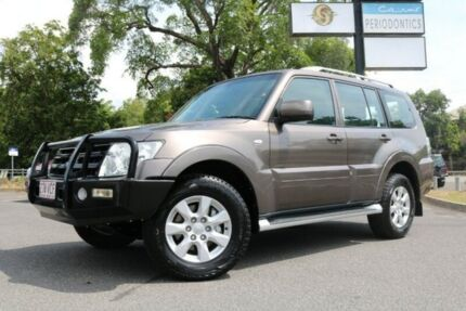 2010 Mitsubishi Pajero NT MY10 Activ Brown 5 Speed Sports Automatic Wagon Earlville Cairns City Preview