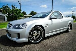 2010 Holden Commodore VE MY10 SS Silver 6 Speed Manual Utility Bungalow Cairns City Preview
